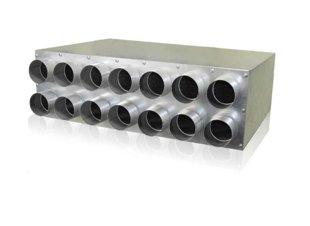 Akustiškai izoliuotas kolektorius 12x75mm